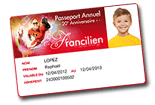 Pasaporte anual Francilien