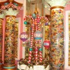 Columnas de caramelos en Boardwalk Candy Palace