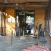Acceso al local - Railroad Frontierland Depot