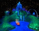 Escena de Londres en Peter Pan Flight