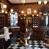 Interior Dapper Dan's Hair Cut en Disneyland Paris