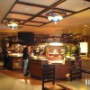 Area de buffet en el Restaurante Hunter´s Grill