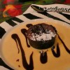 Postre en Rainforest Café