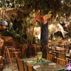 Selva interior de Rainforest Café